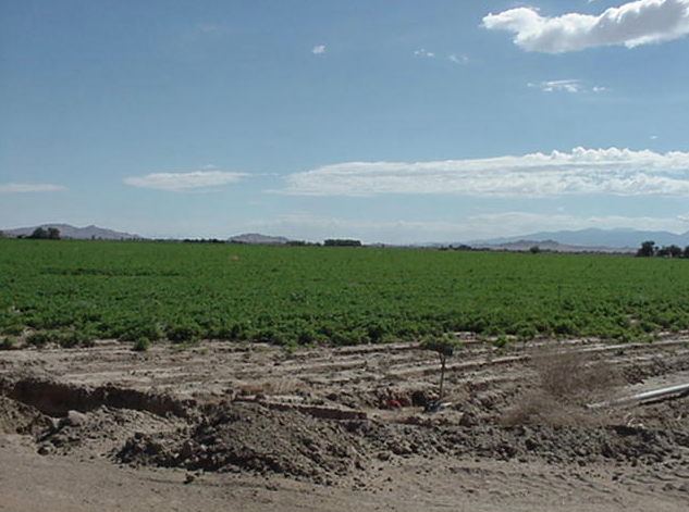 80th St East at SW corner of Ave G-8, 2.5 acres (gross),  East Lancaster, CA  93535