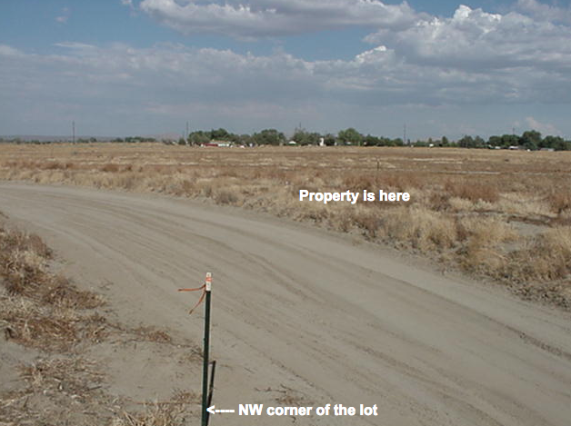 87th St East, 300 feet south of Lancaster Blvd, 2.5 acre lot, East Lancaster, CA  93535