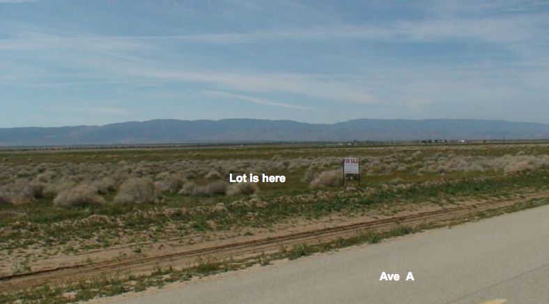 163rd St West on Ave A, 2.25 acre gross (1.62 acre net) lot, Lancaster, CA 93536