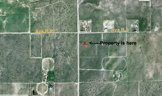 189th St West at Ave B-10, 2.5 acre (gross) parcel, Lancaster, CA 93536