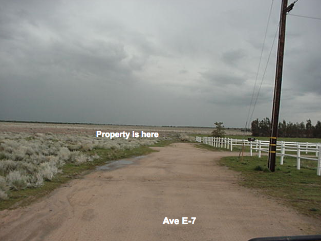 219th St West on Ave. E-7,  3.7 acre lot Lancaster, CA 93536