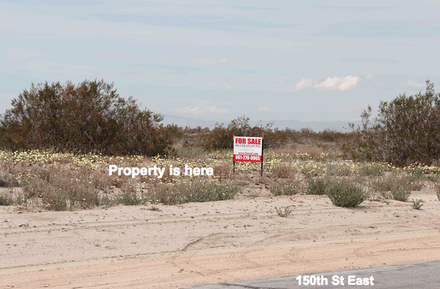 150th St East at Ave L-12, 10 acres, Lancaster, CA
