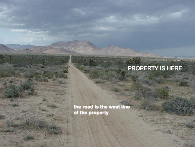 30th St West on Champagne Ave, 20 acres, in the North Rosamond area of Kern County, CA