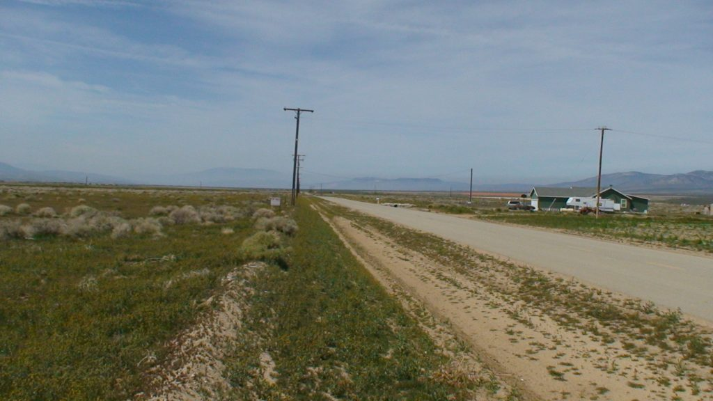165th St West on Ave A, 5 acres (gross) with power, West Lancaster CA 93536