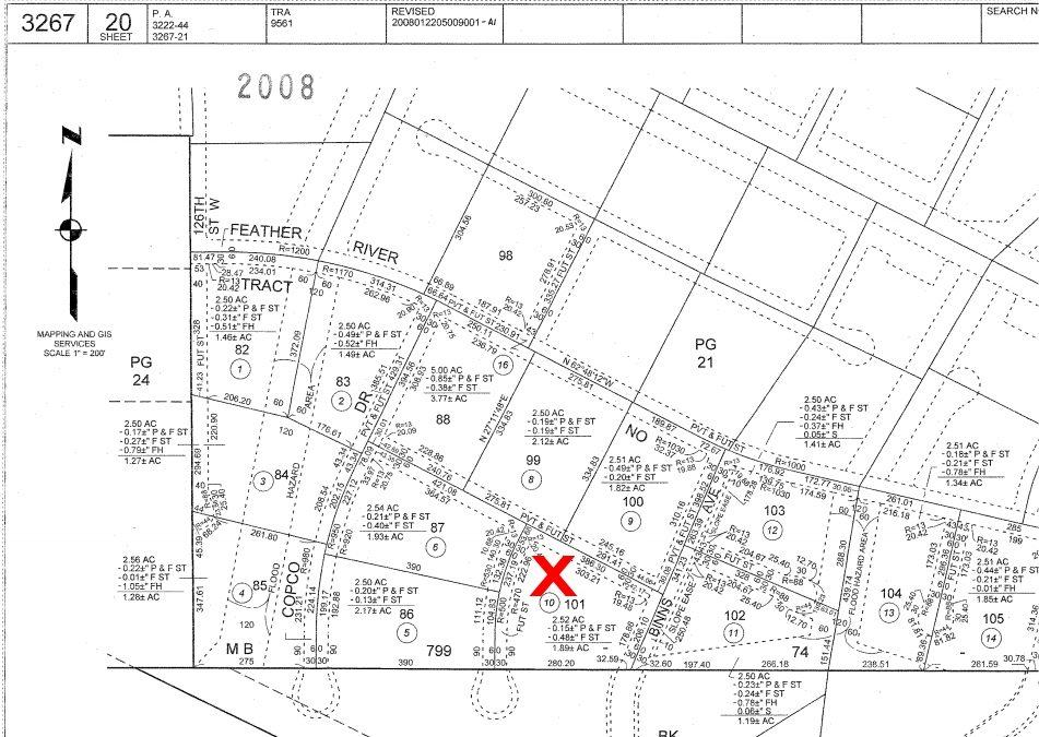 125th St West on Binns Ave, 2.5 Acre Lot, West Lancaster, CA 93536
