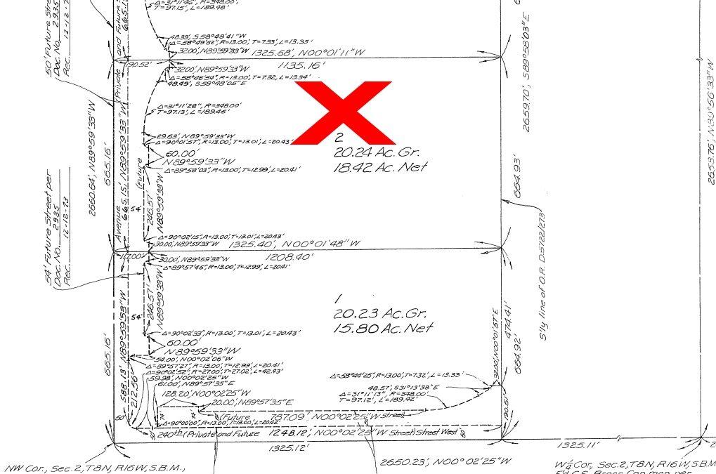 239th St West on Ave A, 20 acres –SOLAR PROPERTY- West Lancaster, CA 93536